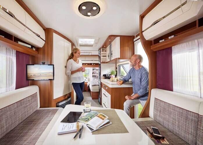 Hobby Wohnwagen Mit Einzelbetten