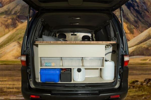 Hyundai h1 camper