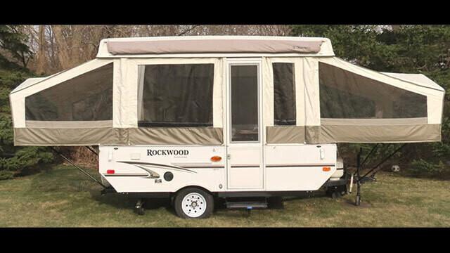 2010 2012 Rockwood 10 Pop Up Camper