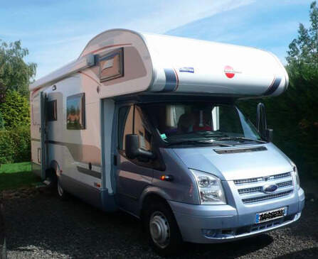 Location camping car Bürstner Nexxo Family