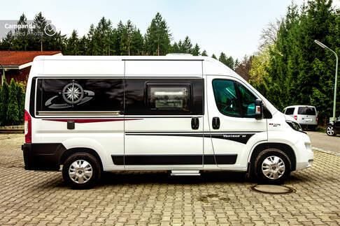 Hobby Vantana K55 F - Moderner Kastenwagen für 2 Personen