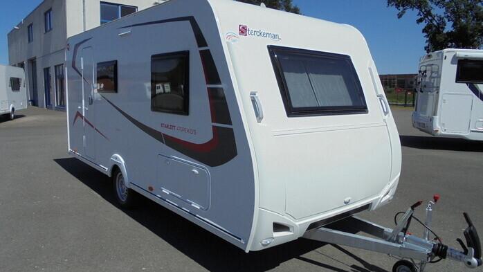 Wohnwagen Etagenbett Sterckeman : Caravan neuheiten wohnwagen unter euro caravaning