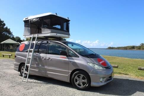 Beta 4-berth with Rooftop tent
